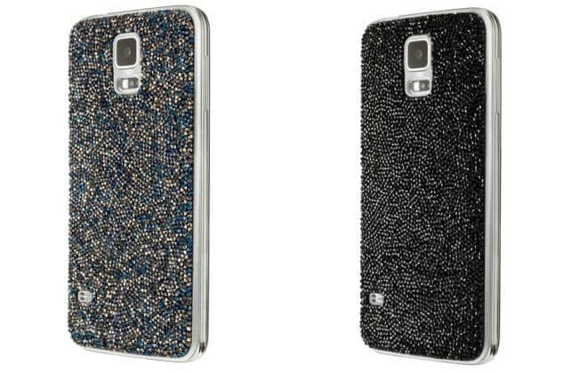 Samsung lança acessórios cobertos de cristais para o Galaxy S5