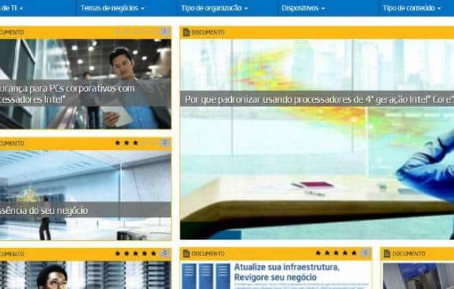 Rede social da Intel sobre TI tem 32 cursos gratuitos
