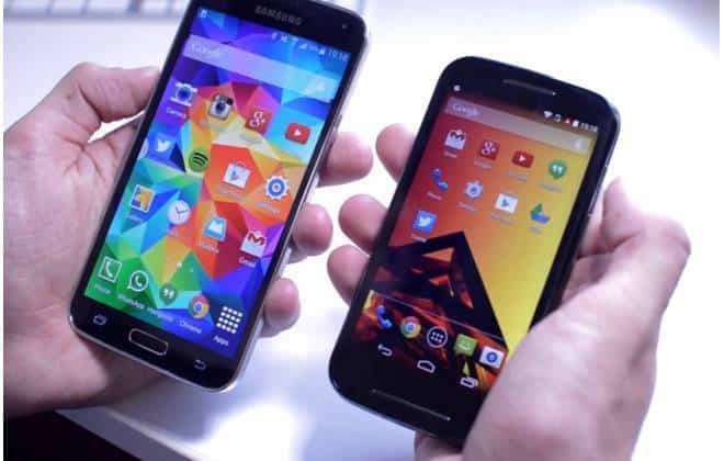 Moto E surpreende e supera Galaxy S5 em desempenho de software