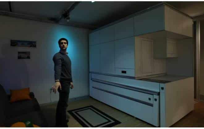 Sistema faz apartamento pequeno parecer até três vezes maior