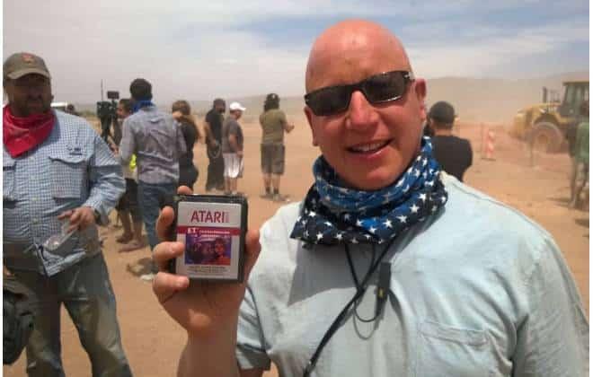 Cartuchos do ET para Atari desenterrados no deserto serão vendidos