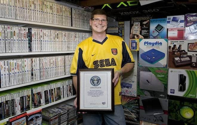Maior coleção de games do mundo é arrematada por R$ 1,67 milhão