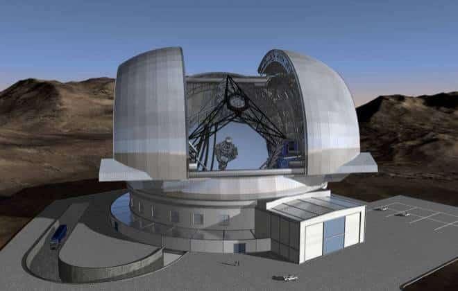 Começa a construção do maior telescópio do mundo