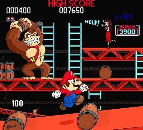 Resultado de imagem para Donkey Kong Jr, a sequela de 1982 de Donkey Kong, é o único jogo no qual Mario oficialmente estrela como o antagonista