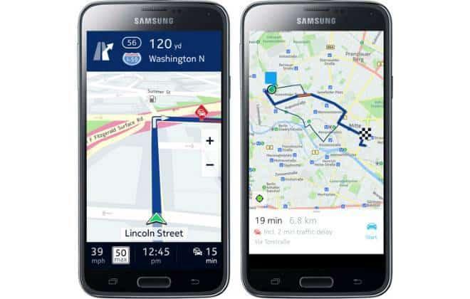 Serviço de mapas da Nokia chega ao Android