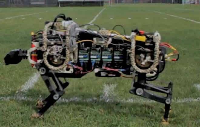 Protótipo de guepardo robótico corre sem depender de cabos de energia