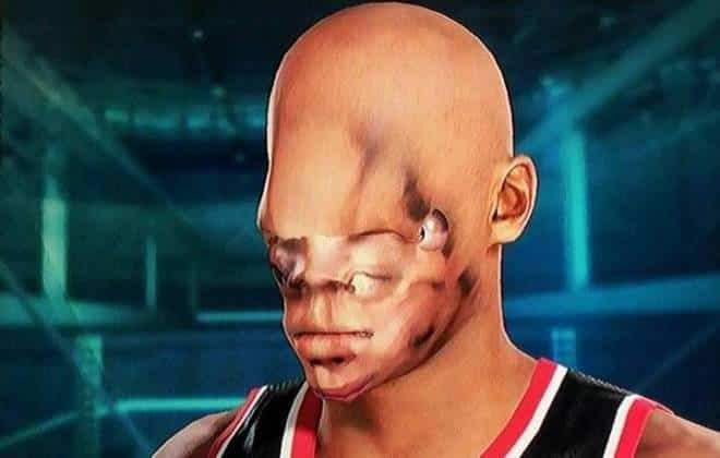 Scan facial do jogo NBA 2k15 cria monstros dignos de pesadelos
