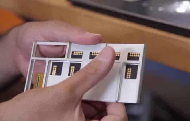 Google mostra smartphone modular em funcionamento