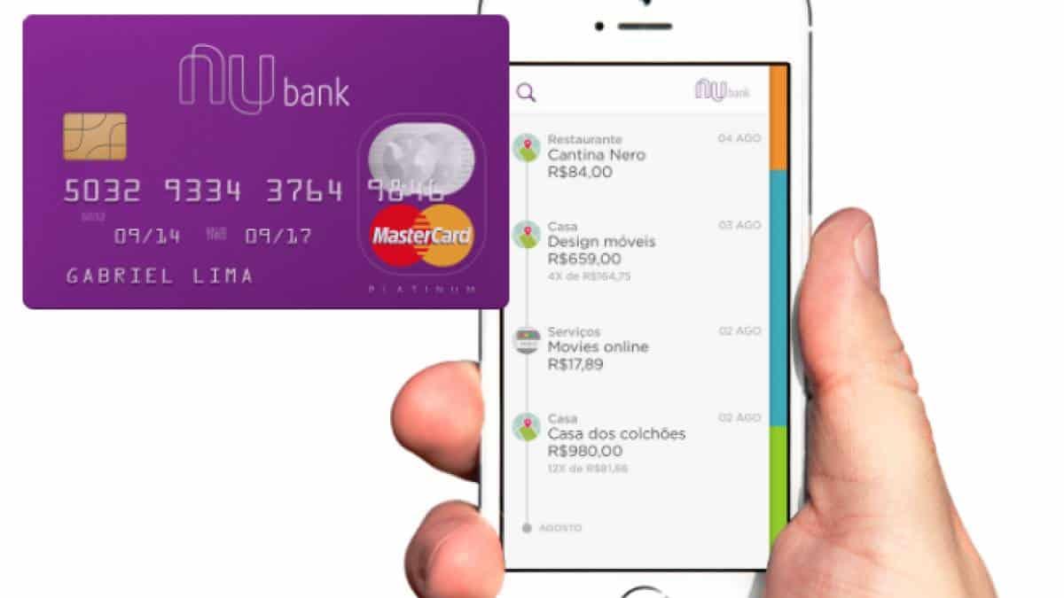 4916db9bb Nubank  o que é e como funciona o cartão de crédito sem tarifa