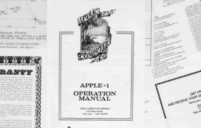 Cofundador da Apple leiloa documentos históricos da empresa