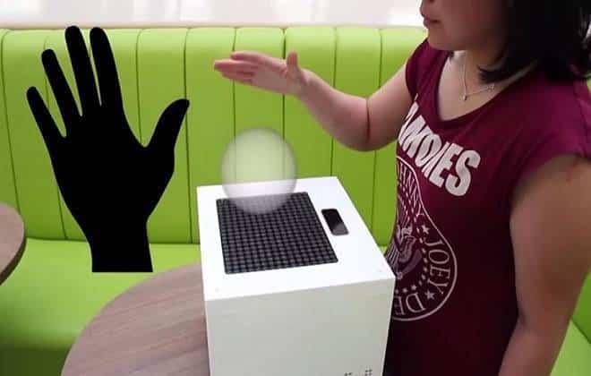 Pesquisadores criam holograma que pode ser tocado; veja vídeo