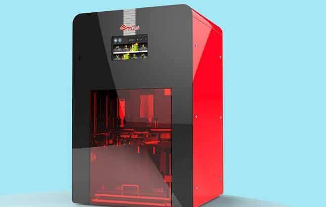 Impressora 3D de alimentos chega ao mercado este ano