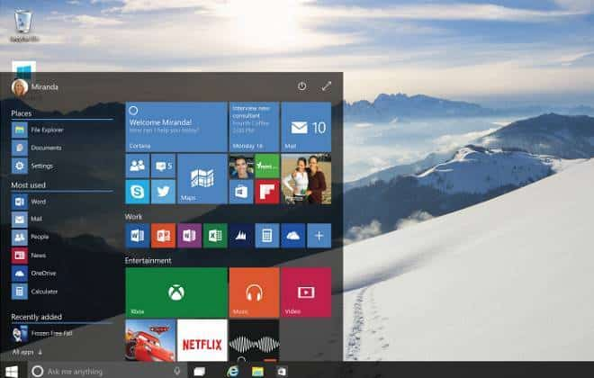 Microsoft libera nova versão de testes do Windows 10