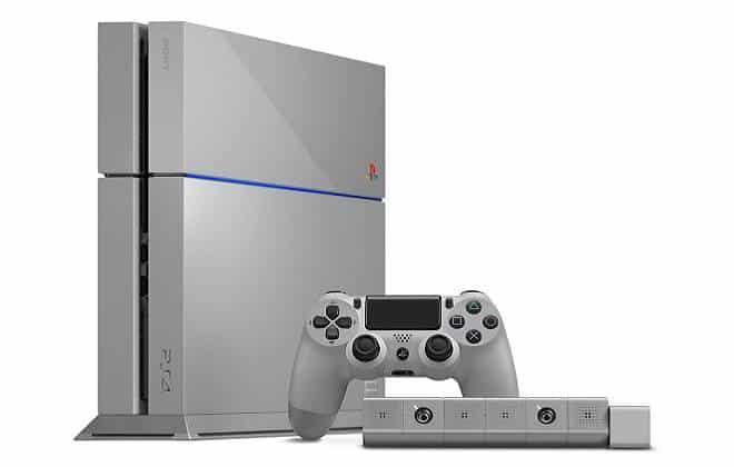 Edi��o comemorativa do PS4 � leiloada por R$ 335 mil