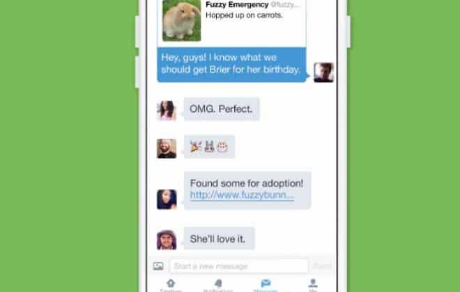 Twitter libera mensagens em grupo e suporte a v�deos