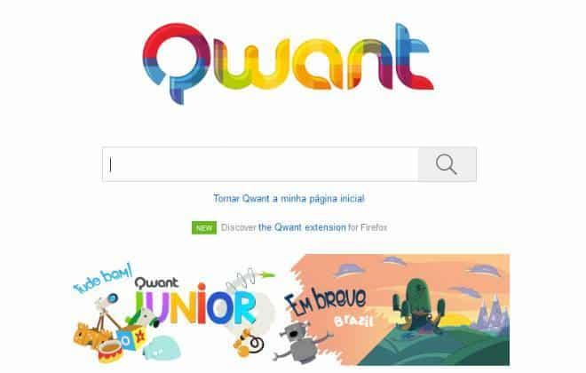 Buscador francês Qwant chega ao Brasil para competir com o Google