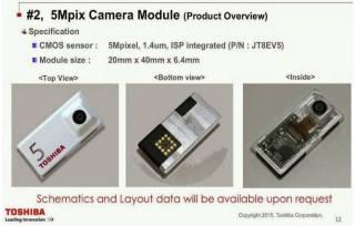 Toshiba apresenta câmeras para smartphone modular do Google