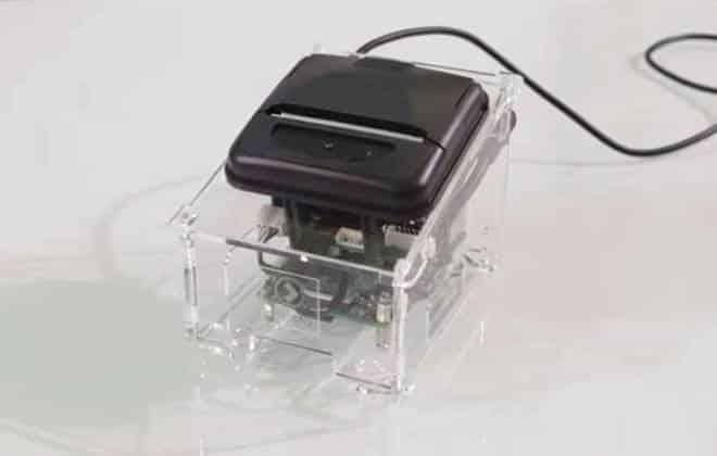 Impressora que usa Raspberry Pi cabe no bolso; veja vídeo