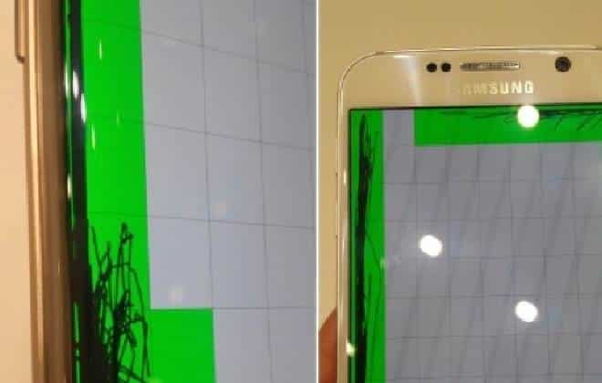 Vídeo mostra falha na tela do Galaxy S6