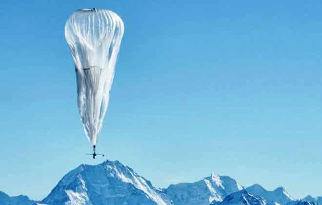 Balão do Google voa até 9 mil km para fornecer internet