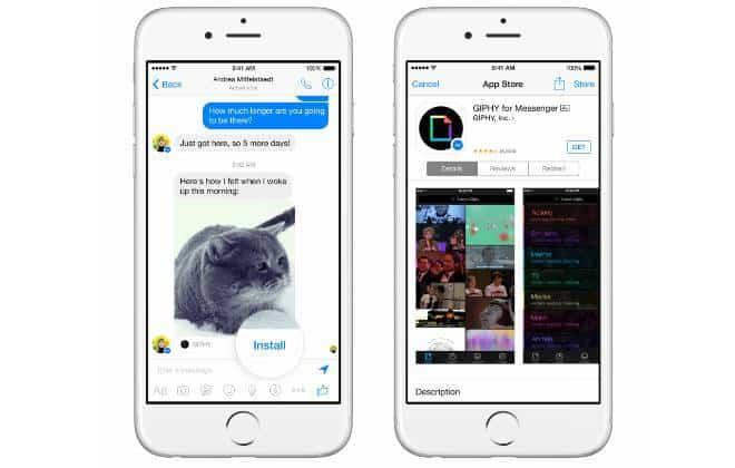 Facebook Messenger vira plataforma que permite instalação de apps