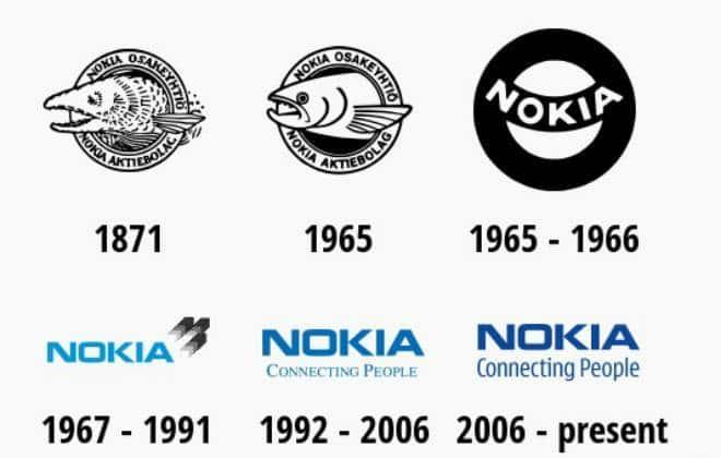 Veja a evolução dos logotipos das gigantes de tecnologia