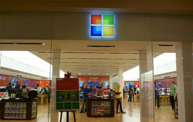 Microsoft pretende ter 100 lojas no Brasil até 2017