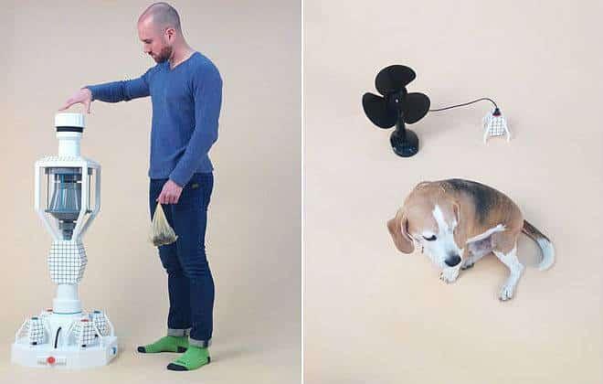 Máquina transforma fezes de cachorro em energia elétrica