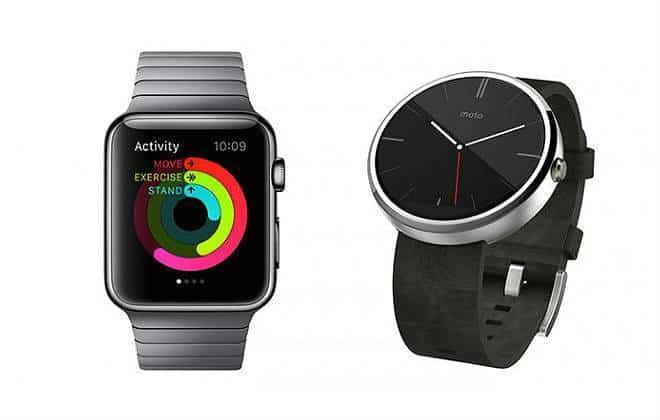 5 coisas que o Android Wear faz que o Apple Watch não faz