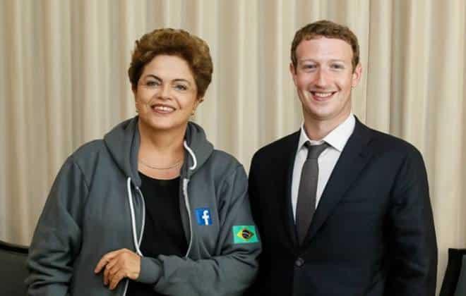 Facebook quer ampliar projeto que oferece acesso à internet no Brasil