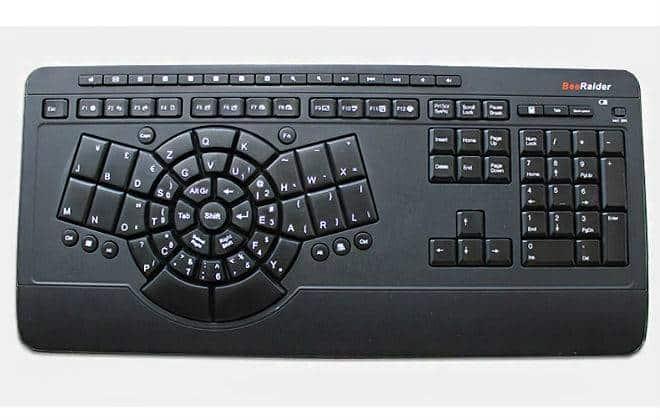 Novo teclado promete eliminar problemas de digitação
