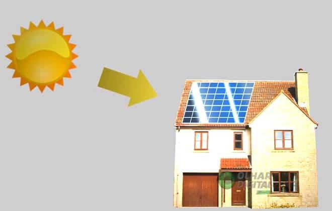 Futuro: eletricidade dom�stica vir� de baterias e da luz solar