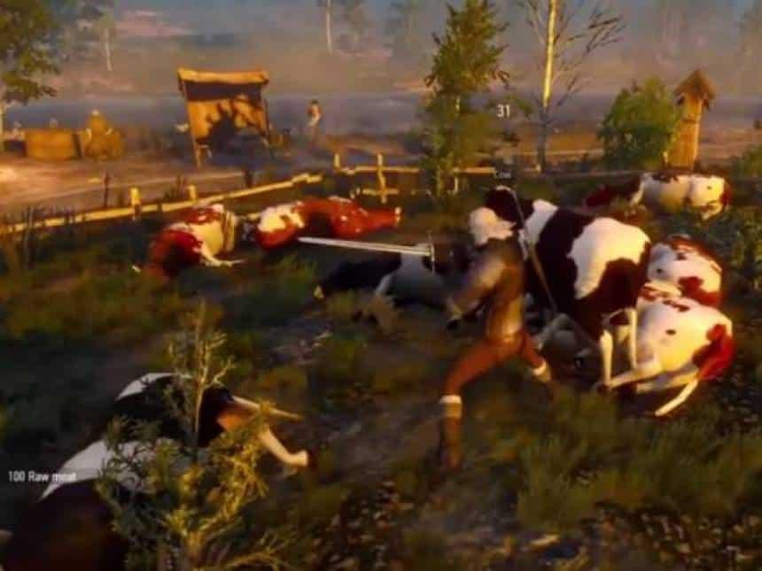 Mercado de Witcher 3 permite que jogadores enriqueçam