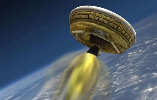 NASA testa paraquedas supersônico para aterrisar em Marte