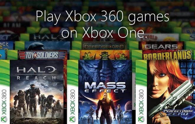 Confira a lista de games retrocompatíveis do Xbox One