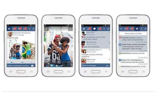 Facebook lança versão mais leve para Android no Brasil
