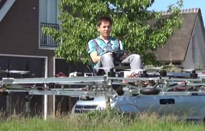 Drone que carrega pessoas é a alternativa ao sonho do carro voador