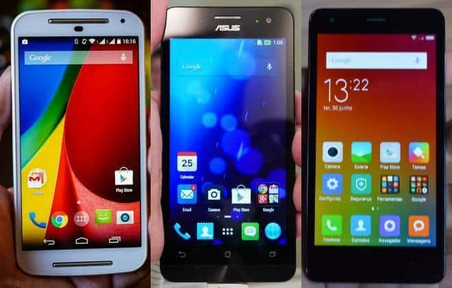 Bons e baratos: confira 7 smartphones até R$ 700