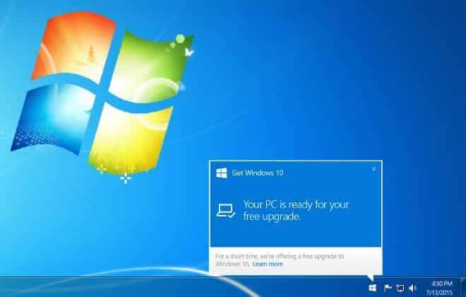 Seu computador pode já ter o Windows 10
