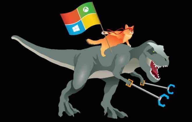 "Microsoft abraça o ""gato ninja"" como mascote do Windows 10"