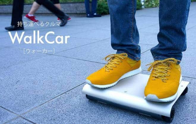 Transporte pessoal portátil será lançado no Japão; veja vídeo