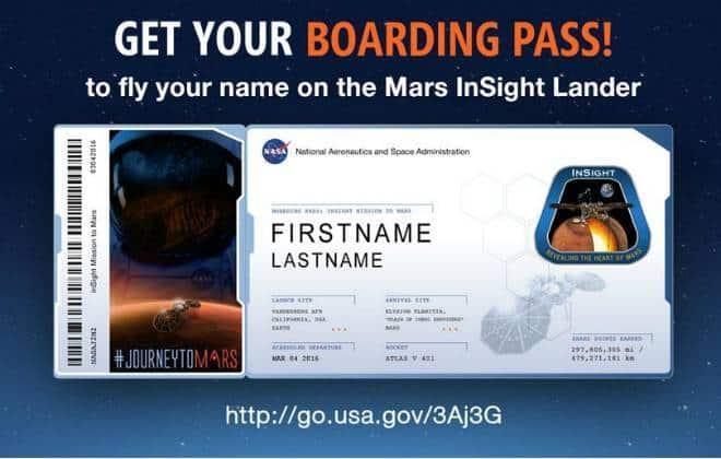 NASA permite que internautas enviem seus nomes para Marte 20150819131219_660_420