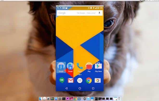 Extensão para Chrome reflete a tela do Android no PC