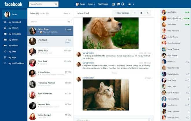 Extensão moderniza o visual do Facebook no desktop; conheça