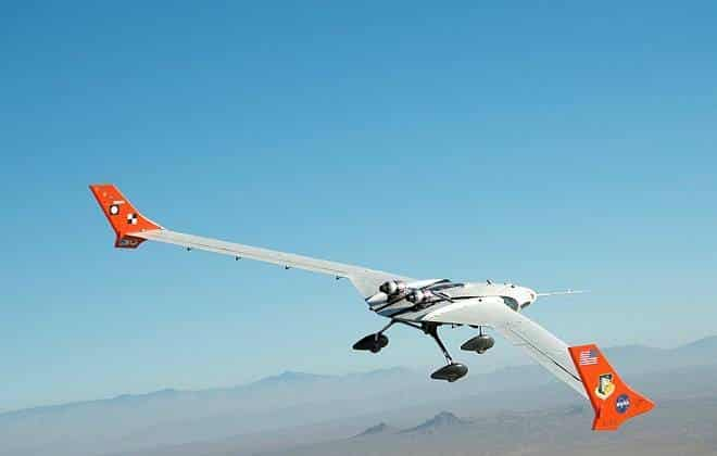 [Internacional] Em testes, avião com asa flexível da NASA atinge 240 km/h 20150903120944_660_420