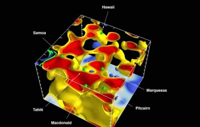 Primeiro mapa 3D do interior da Terra explica origem de ilhas vulcânicas