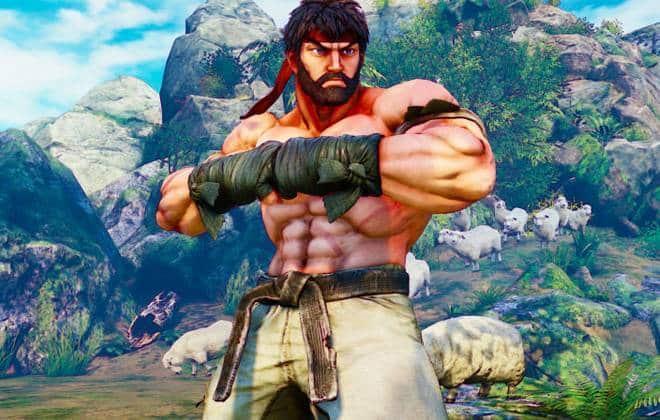 Trailer mostra todos os personagens iniciais de Street Fighter 5
