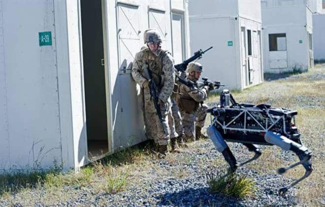 Militares dos EUA estão testando cão robótico do Google