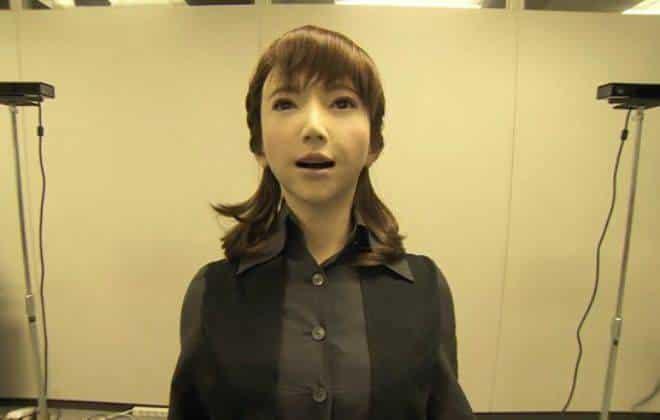 Conheça Erica, a robô japonesa hiper-realista