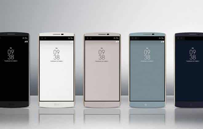 LG anuncia V10, um smartphone com 2 telas e 2 câmeras frontais